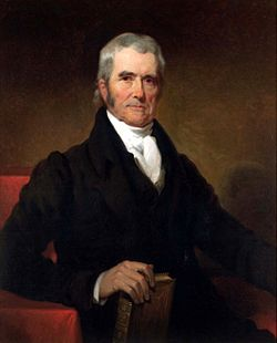John Marshall was in a position similar to Chief Justice John Roberts.