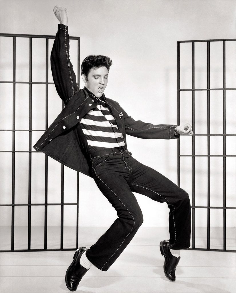 Before the Beatles launched the British Invasion, Elvis ruled the music world.