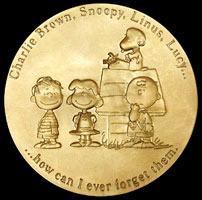 Charles Schulz, who created A Charlie Brown Christmas, was awarded the Congressional Gold Medal.