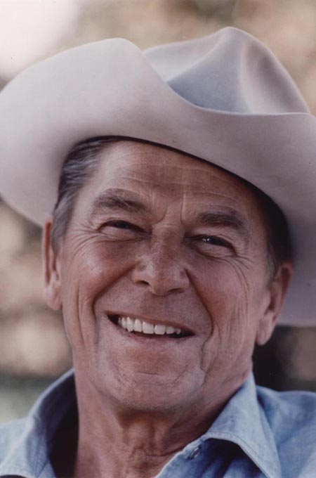 """Ronald Reagan smile gave authenticity tot he phrase """"Morning in America."""""""