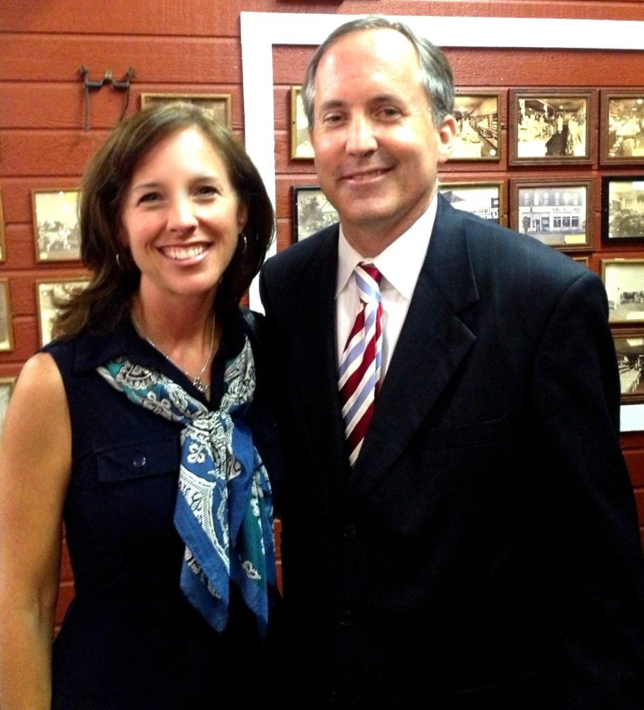 Ken Paxton brought the suit that the Supreme Court disposed of in three words.