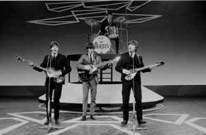 The British Invasion began on December 17, 1963 fwhen the Fab FOur first received substantial American air play.