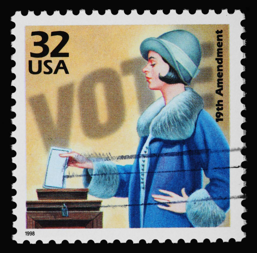 Women's suffrage was seen as a danger to marriage and the family.