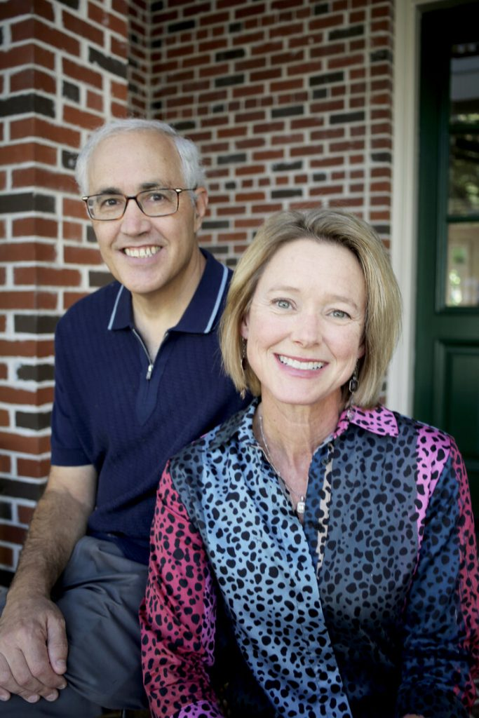 Lee and Paul Michaels, paying it forward, fiercely.