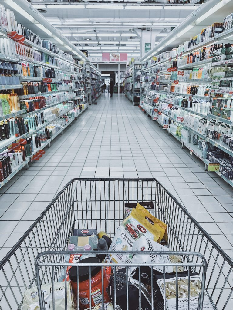 Getting stronger helps us accomplish everyday tasks, like grocery shopping.